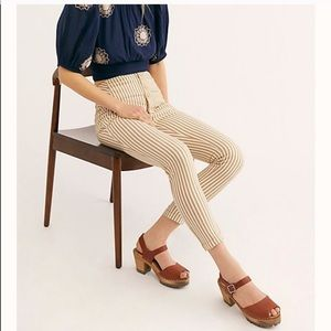 NWT Free People Frankie High Waist Skinny Pants